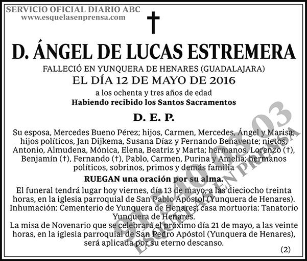Ángel de Lucas Estremera
